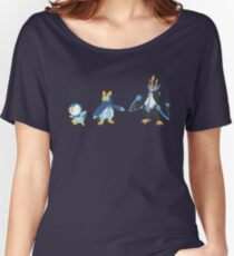 Piplup Evolution Women's Relaxed Fit T-Shirt