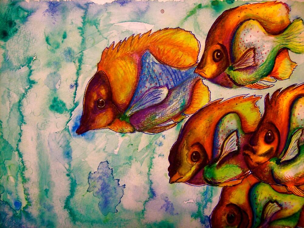 Rainbow Fish by MegJay