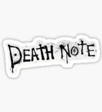 Death note title  Sticker