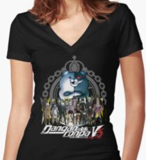 Danganronpa V3 Women's Fitted V-Neck T-Shirt