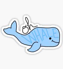 Pegatina Oh ballena