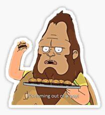 Bob's Burgers: Beefsquatch Sticker