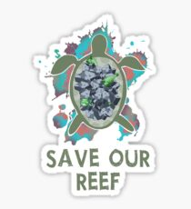 Save The Great Barrier Reef Sticker