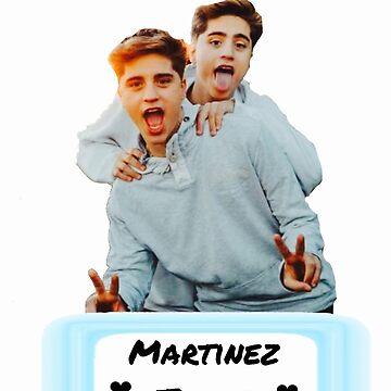 Martinez Twins  by Randomlaurmau