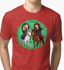 Clexa Brings You Peas Tri-blend T-Shirt