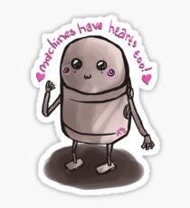 Machines Have Hearts too!- Nier Automata Sticker
