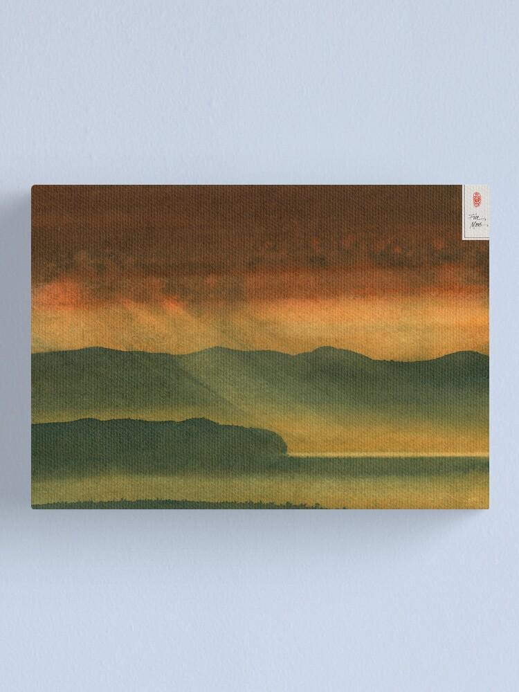 Alternate view of Autumn Valley Canvas Print