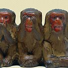 Three Wise Monkeys by FrankieCat