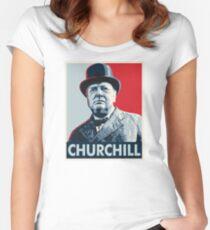 Winston Churchill Women's Fitted Scoop T-Shirt