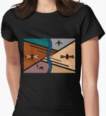 Earth Women's Fitted T-Shirt
