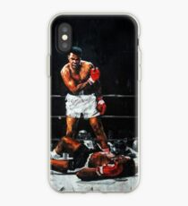 Muhammad Ali Knocks Out Sonny Liston iPhone Case