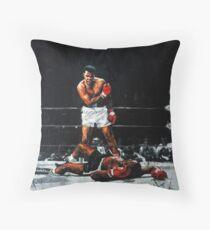 Cojín de suelo Muhammad Ali noquea a Sonny Liston