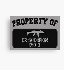 SCORPION EVO 3 Canvas Print