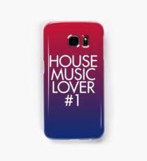 House Music Lover #1 Samsung Galaxy Case/Skin