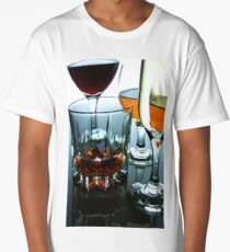 Alcoholic drink in a glass Long T-Shirt
