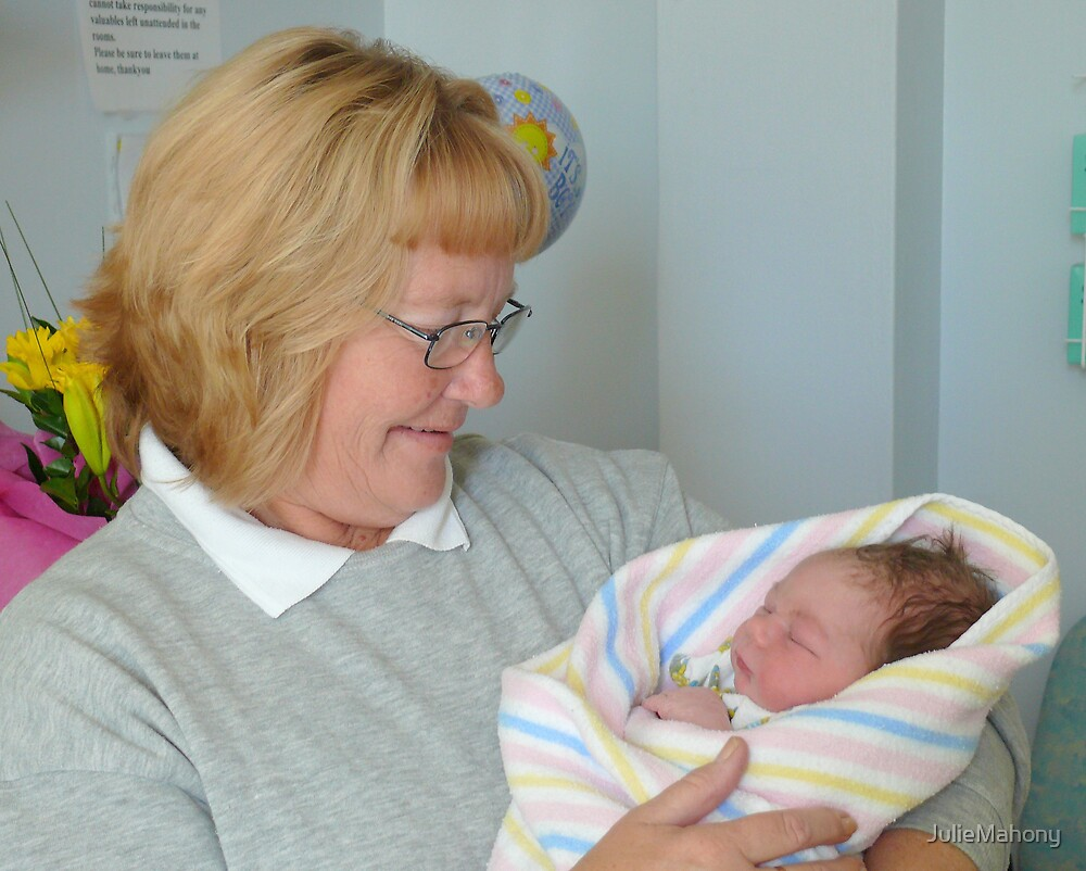 Proud Grandma with Cameron by JulieMahony