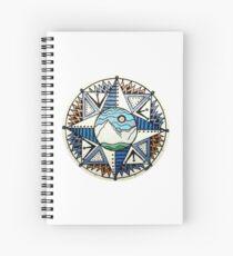 Mountain Compass 1 Spiral Notebook