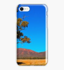 Cazneaux Tree in the morning sun, Wilpena Pound iPhone Case/Skin