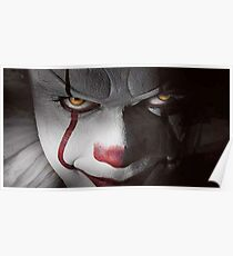 Pennywise up close Poster
