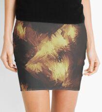 Golden Brown Mini Skirt