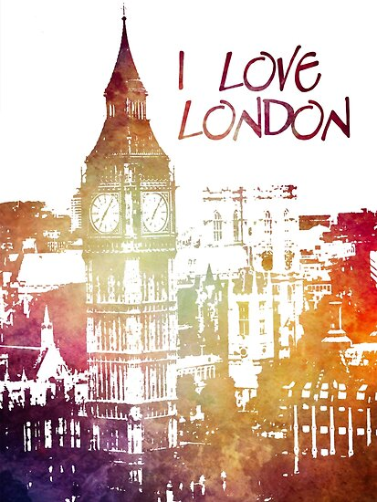 I love London by JBJart
