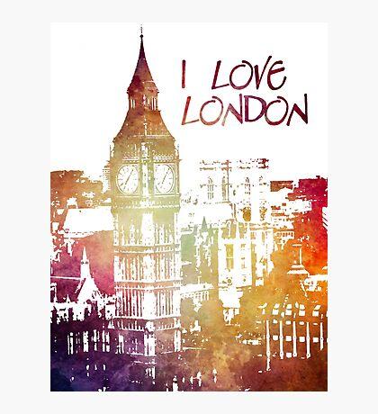 I love London Photographic Print