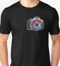 Colorful Lens Photography T-Shirt