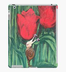 Tulips have a friend  iPad Case/Skin