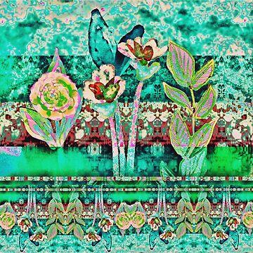 Whimsy garden by kathrynhack