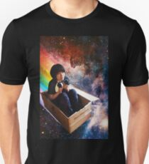 Flying through the galaxy with guinea pigs Unisex T-Shirt