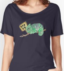 Comma Comma Chameleon  Women's Relaxed Fit T-Shirt