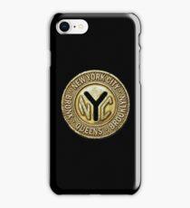 NYC Subway Token iPhone Case/Skin