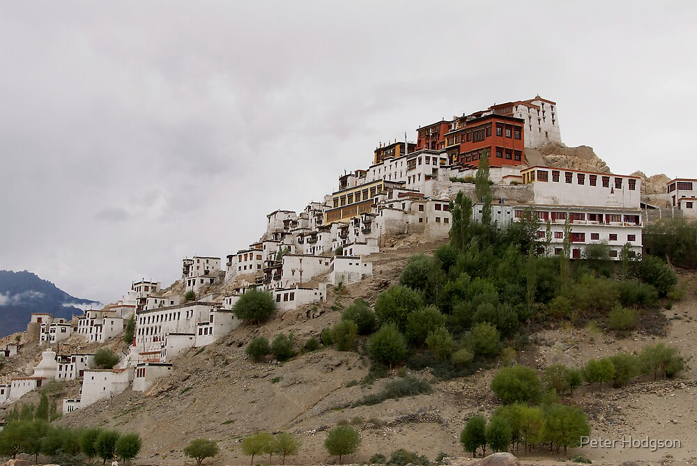 Thiksey Monastery Ladahk India by Peter Hodgson