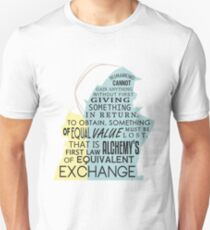 Equivalent Exchange Unisex T-Shirt