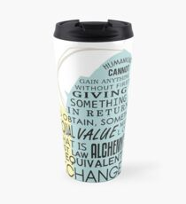 Equivalent Exchange Travel Mug