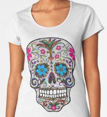 sequin Sugar Skulls Women's Premium T-Shirt