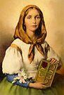 Saint Dymphna by Albert