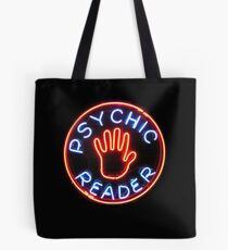 Psychic Reader // Neon City Lights Tote Bag