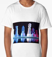 Glass Chess Pieces Long T-Shirt
