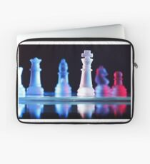 Glass Chess Pieces Laptop Sleeve