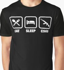 Counter-Strike Global Offensive AK-47 Gaming Tee Graphic T-Shirt