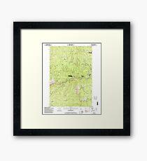 USGS TOPO Map Idaho ID Golden 236236 1995 24000 Framed Print