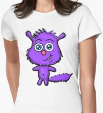 Cute Critter Womens Fitted T-Shirt