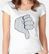 Thumbs Down Women's Fitted Scoop T-Shirt