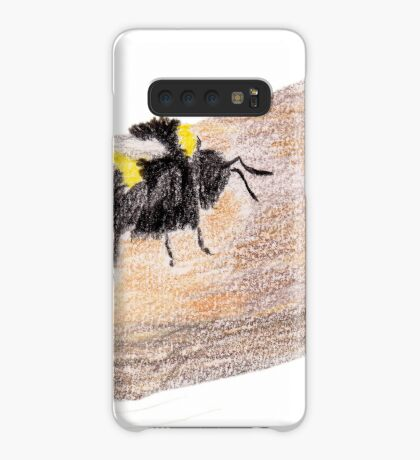 Bumblebee on a piece of bark Case/Skin for Samsung Galaxy