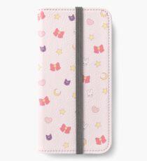 Mond-Häschen iPhone Flip-Case/Hülle/Klebefolie