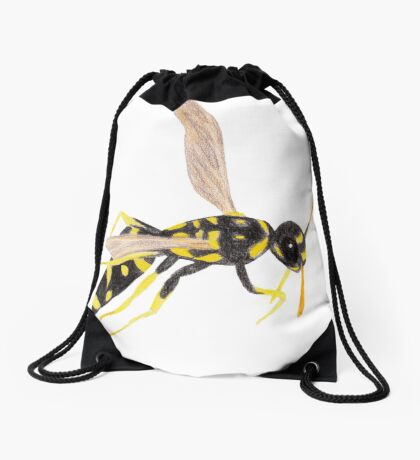 Wasp Drawstring Bag