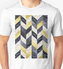 Marble and gold pattern T-Shirt