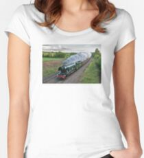 Flying Scotsman Women's Fitted Scoop T-Shirt