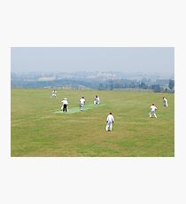 The Cricketers Photographic Print